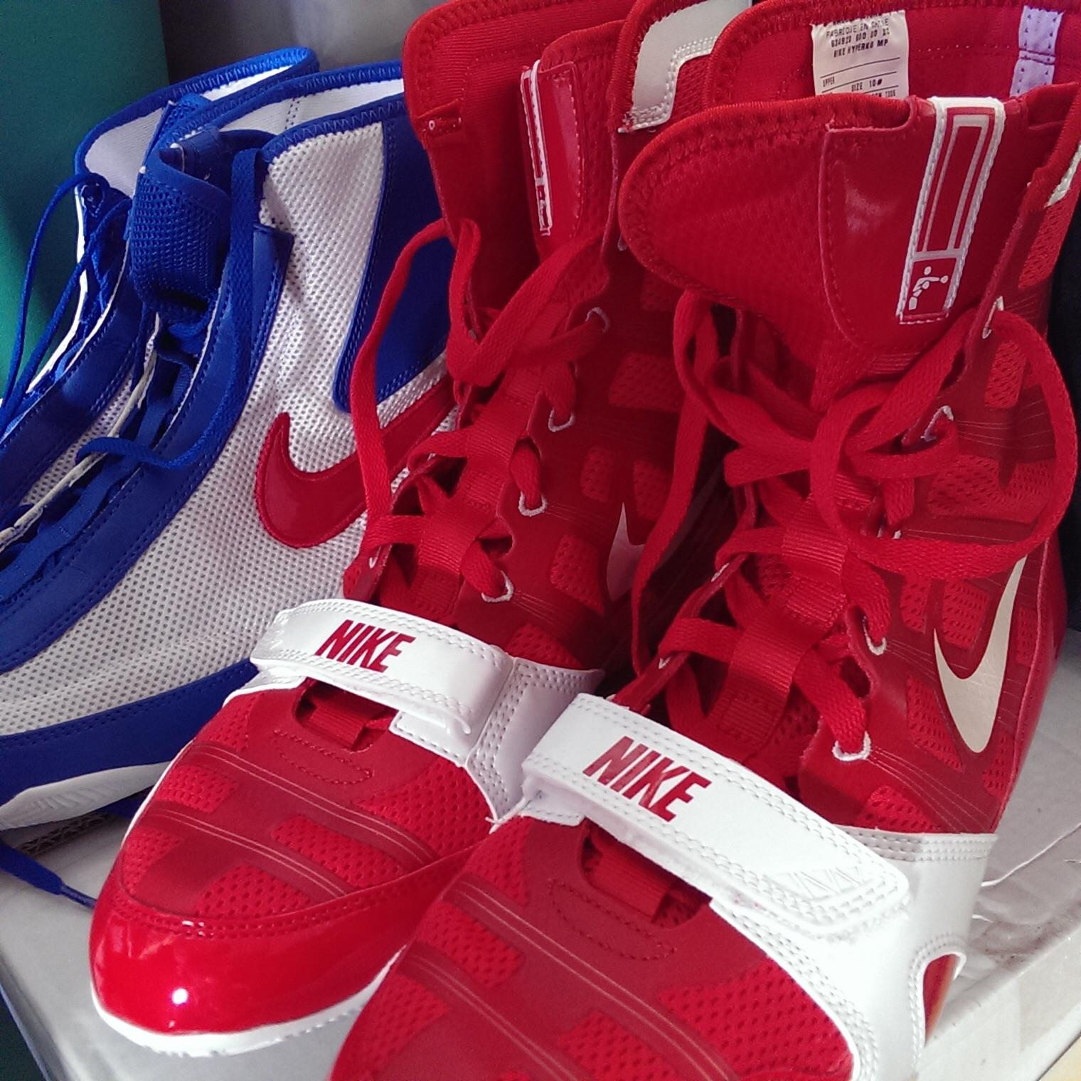 half off a3149 4e5f2 Boxing Shoes - Nike HyperKO and Nike Machomai
